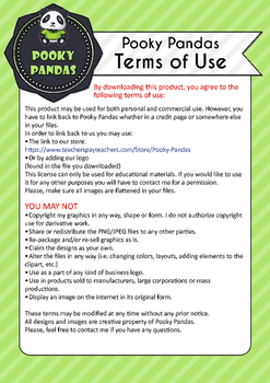 Clipart terms of use