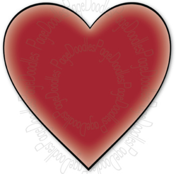 Clipart, Hearts, for TPT Sellers - High Quality Vector Graphics