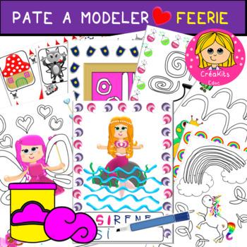 Cliparts CreaKit FEERIE noir et Blanc
