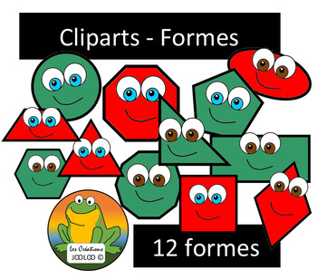 Cliparts - Formes