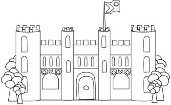 Cliparts Palais et Châteaux