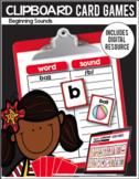 Clipboard Card Games / Digital Classroom Resource- Past an