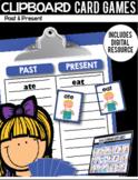 Clipboard Card Games / Digital Google Classroom Resource -