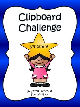 Clipboard Challenge - Synonyms
