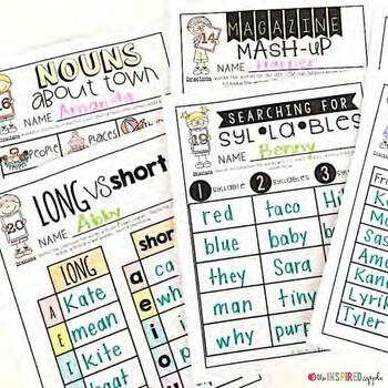 Clipboard Classroom Activities
