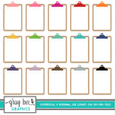 Clipboard Clipart Pack