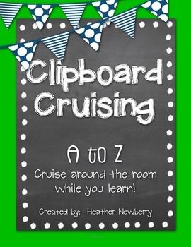 Clipboard Cruising A to Z