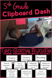 Clipboard Dash: 5th Grade Math Game Bundle, NBT Standards