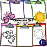 Clipboard Set Clip Art