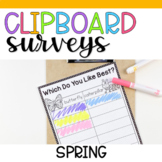 Clipboard Surveys- Spring