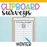 Clipboard Surveys- Winter