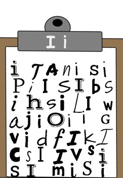 Clipboard letter search
