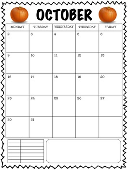 Clipchart Behavior Management System with Monthly Behavior Calendars (2017-2018)