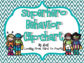 Clipchart Behavior System - Superhero Theme
