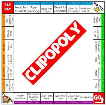 Clipopoly Game