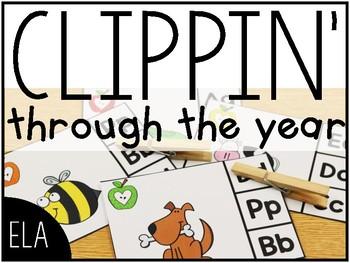 Clippin' Through the Year: ELA