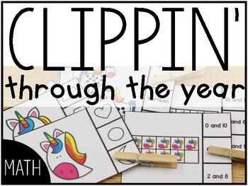 Clippin' Through the Year: Math