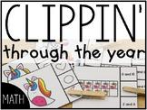 Clippin' Through the Year: Math #FLASHBASH