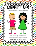 Clippin' Up: behavior clip chart and calendars