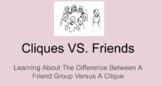 Cliques Versus Friends PowerPoint Lesson