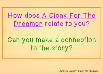 A Cloak for the Dreamer Vocabulary Book Study for Promethean Board
