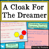 A Cloak for the Dreamer Vocabulary Book Study for PROMETHEAN Board