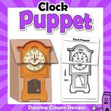 Clock Craft Activity   Paper Bag Puppet