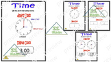 "Anchor Chart: ""Time"" (English)"