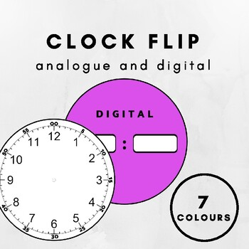 Clock / Analogue and digital time