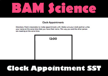 Clock Appointments Template