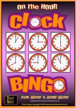 Clock BINGO - FREE!
