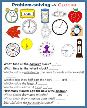 Clock BUNDLE