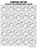 Clock Bingo {Hour, Half Hour, & Quarter Hour}