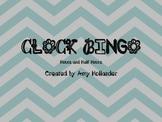 Clock Bingo (Hour/Half Hour) FREEBIE