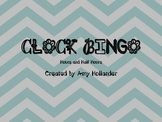 Clock Bingo (Hour/Half Hour) FREEBIE