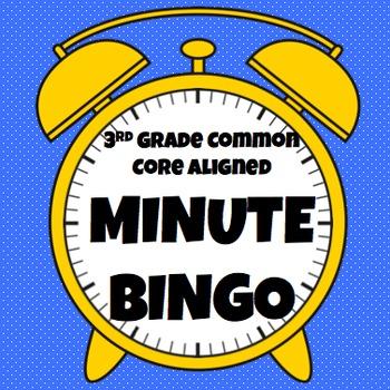 Clock Bingo (Time Bingo) - Time to the Minute