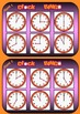 Clock Bingo - (Time Bingo) On the HOUR - 32 Cards