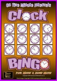 Clock Bingo (Time Bingo) - 5 Minute Intervals - 32 Cards