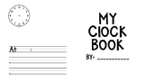 Clock Booklet Template