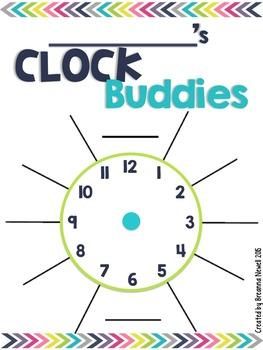 Clock Buddies/Pairing Up Partners