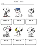 Clock Buddies Snoopy and siblings edition