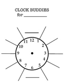 Clock Buddies Template