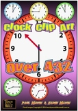 Clock Clip Art - 432 clocks