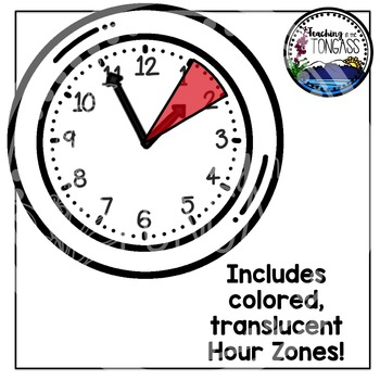 Clock Clipart (Telling Time Clipart)