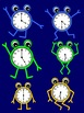 Clock Clipart Characters