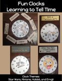 Clock Craft: Making Clocks to Tell Time