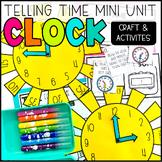 Clock Craftivity Math- Telling Time
