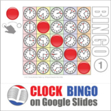 Clock Digital Bingo