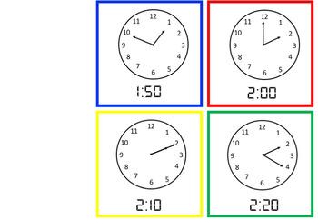 #AUSBTS18 - Clock Display