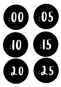 Clock Display - Minutes and Language!